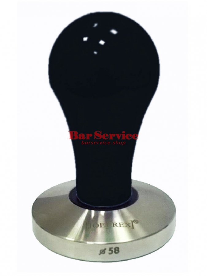 Темпер JoeFrex D58 Pop черный плоский сталь в Екатеринбурге