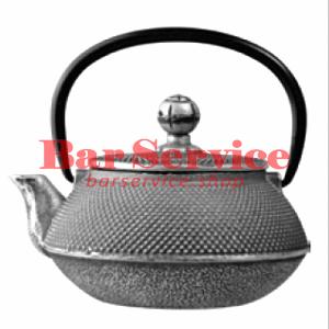 Чайник с ситечком; чугун; 650 мл; D=8.7,H=9.4,L=14.5; черный в Екатеринбурге